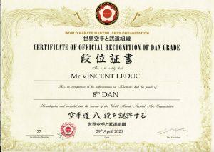 LC - 8 Dan Karate
