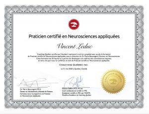 LC - Neurosciences appliquées